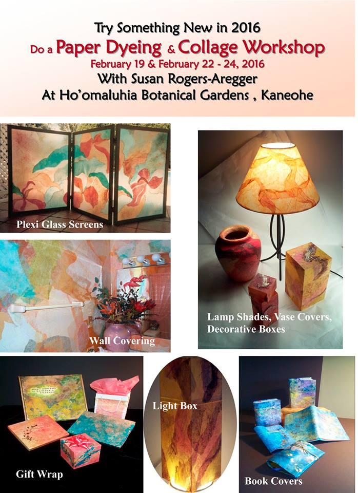 Susan Rogers Aregger Workshop 2016