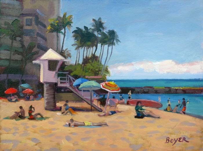 Kaimana Sun Fun by Lynne Boyer